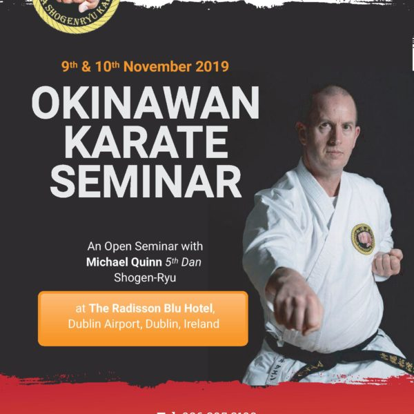 Open Okinawan Karate and Kobudo seminar